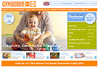 Gymboree website design